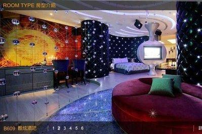 【悠遊網內湖店】假日+900!台中杜拜風情時尚旅館B等級KTV主題房住宿券(早餐)特惠價 3,780元
