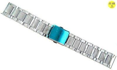 @(六四三精品)@不銹鋼錶帶.........1.8公分尺寸....不退色不過敏超防水!!