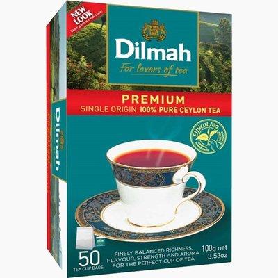 Dilmah帝瑪 帝瑪錫蘭紅茶 英式紅茶 2g*50入盒裝 新北市