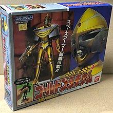 Bandai Blueswat combat cross 4 gold platinum 藍色特警組 金屬英雄系列