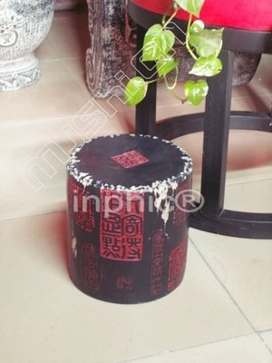 INPHIC-中式 小椅子 新古典傢俱 試穿換鞋凳 田園 鞋櫃 仿石古 中國印