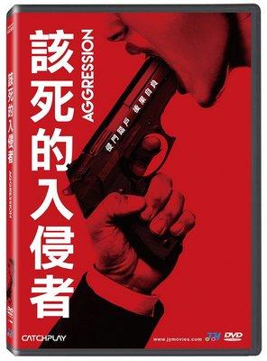 合友唱片 面交 自取 該死的入侵者 Aggression DVD