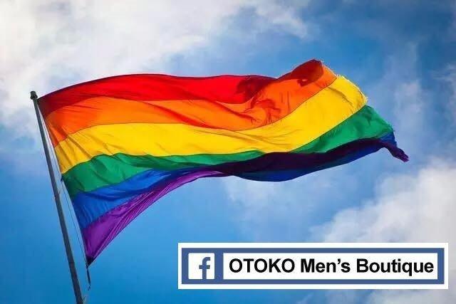 【OTOKO Men's Boutique】彩虹旗/派對適用/同志遊行適用/婚姻平權/原廠正品