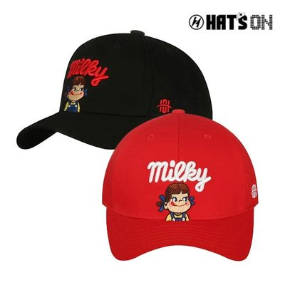 【Easy GO 韓國潮牌代購】HATS ON -PEKO超可愛明治娃娃棒球帽/鴨舌帽(親子款)