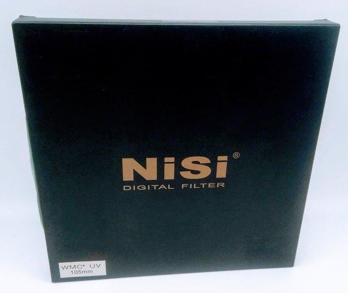 NISI WMC+ UV 105mm 超薄雙面防水多層鍍膜 保護鏡【防水+抗油污 光學玻璃鏡片 超級抗反射】