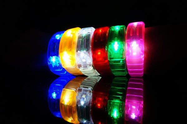 發光派對屋@日本最新款超高亮度手環(六色可選)發光玩具