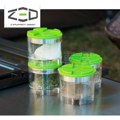 [碧海藍天]ZED 迷你調味罐收納組 ZCACC0102 桃園市