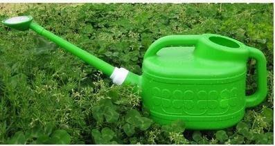 【長嘴灑水壺-4L】澆水壺 澆花壺 噴水壺 噴霧器 園藝工具-5101002