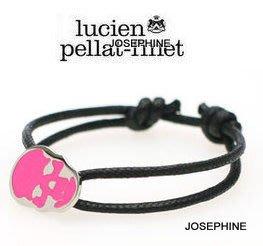 喬瑟芬【lucien pellat-finet】現貨~2013 骷顱頭 Bracelet Skull 手環*可調大小(桃紅,螢光綠2色)
