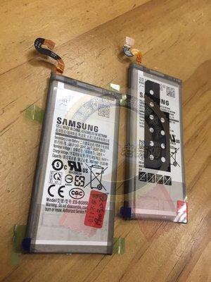 新竹 老師傅 專業維修 三星 Note9 N9600 電池  電力亂跳 關機 膨脹 無法充電 蓄電不良