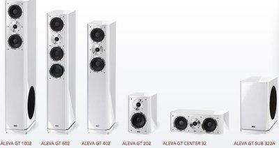 HECO Aleva GT Center 32 中置喇叭 另 Music Style Cente 2 新店音響