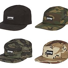 { POISON } THRASHER LOGO 5 PANEL HAT 經典Simple Logo布章 五片帽 共4色