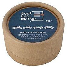 【象牙cute ta】韓國 Bookfriends book line marker set- classic car 書的朋友書籤 古董汽車篇