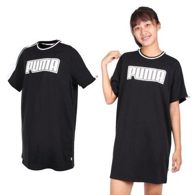 PUMA 女基本系列短袖連身裙(裙子【03313098】≡排汗專家≡