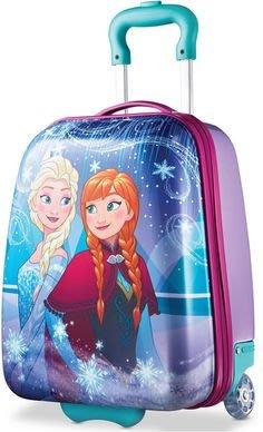 """~❤美國寶寶的衣櫥❤~(現貨)美國迪士尼 Frozen冰雪奇緣18"""" 登機箱 行李箱 Samsonite集團品牌製造"""