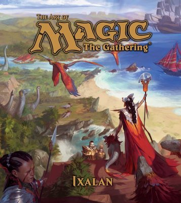 [代訂]魔法風雲會 The Art of Magic The Gathering - Ixalan 9781421596