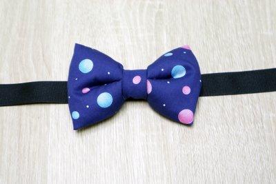 SKder手作~  星球手工立體蝴蝶結領結 bow tie