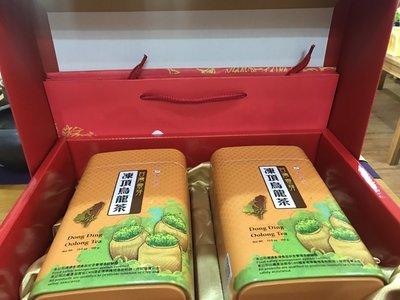 【澄韻堂】當天發貨、效期新、天仁茗茶台灣靈芽-凍頂烏龍茶/ 300克X2罐-礼盒組附提袋 高雄市