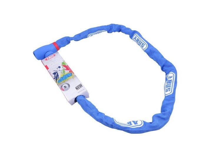 【鐵馬假期】德國 ABUS uGrip chain 585 時尚鏈條鎖 鑰匙鎖 堅固耐用 100cm 藍色