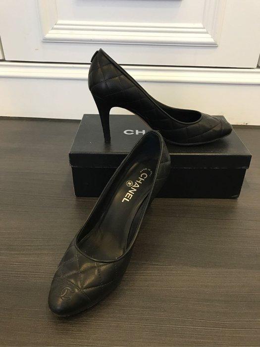 Chanel 正品38號高跟鞋