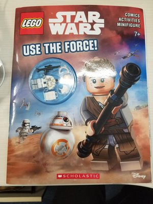 全新LEGO Star Wars Activity Book Use the Force