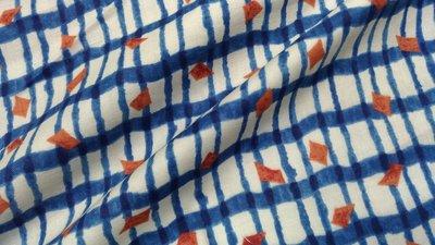 51公分賣195/豬豬日本拼布/ k o k k a格格D款/二重紗二層紗布料材質