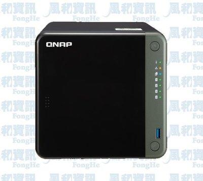 QNAP TS-453D-4G 4Bay 網路儲存伺服器【風和網通】