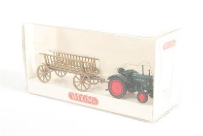 傑仲(有發票) 博蘭 公司貨 WIKING Tractor Hanomag R16 8930131 HO