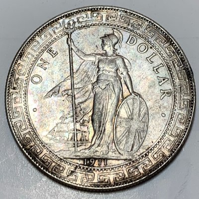 香港貿易銀1911年站洋