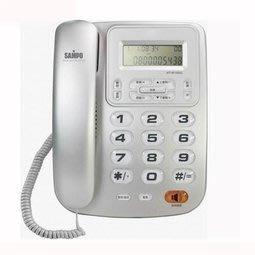 【胖胖秀OA】聲寶SAMPO HT-W1002L來電顯示話機(紅色/銀色)※含稅※