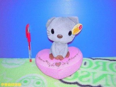 【辛普森娃娃屋】會唱歌的 貓心型 小貓 貓咪娃娃