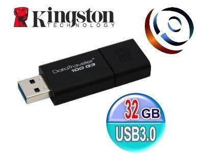 「ㄚ秒市集」Kingston 金士頓 DataTraveler 100 G3 32G 32GB USB3.0 隨身碟