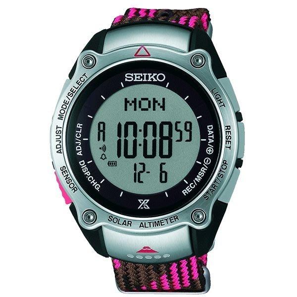 SEIKO PROSPEX 富士山世界遺產登山限定錶~粉紅 43mm S822~00B0R