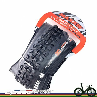 【速度公園】MAXXIS Minion DHR II 27.5X2.4 摺疊胎 無內胎式外胎 M327RU 下坡車