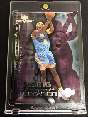 🐍2002-03 Upper Deck MVP Rising To The Occasion #RO1 Kobe Bryant