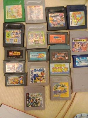 大媽桂二手屋,任天堂Game Boy 遊戲片,遊戲卡帶,遊戲卡匣,網路最低,值得珍藏,每片只要250,不含金手指喔,金手指比較貴