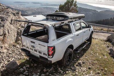 SJS 皮卡高蓋 快開式側窗(Fleetrunner) 寬達1米的開口 Amarok Hilux Ranger