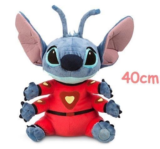 【美國大街】正品.美國迪士尼星際寶貝史迪奇絨毛娃娃六腳史迪奇絨毛娃娃 Stitch 16吋 / 40cm