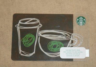 starbucks 星巴克 隨行卡 儲值卡 英國 2016 咖啡 茶 限量 隨行卡 儲值卡 卡片 收集 收藏 紀念