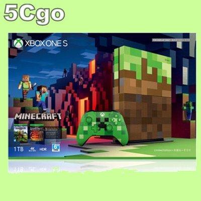 5Cgo【權宇】聯強貨Microsoft Xbox One S 1TB Minecraft特別版我的世界同捆組 含稅