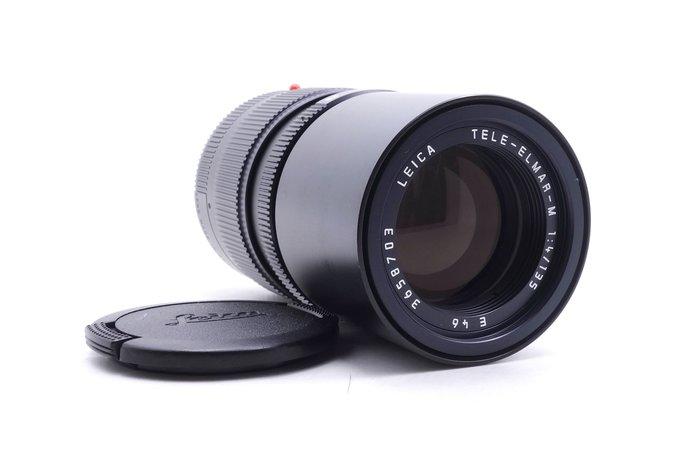 【台中青蘋果】徠卡 Leica Tele-Elmar-M 135mm f4 E46 德製 二手 單眼鏡頭 #11423
