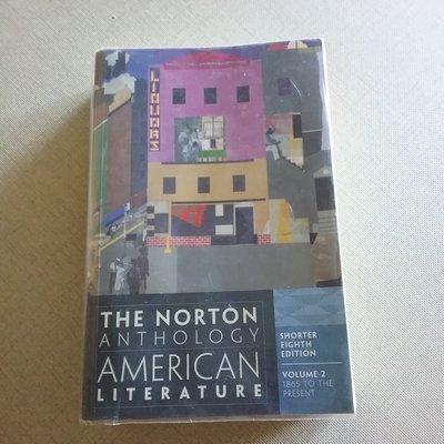 The Norton  American literature volume one  美國文學
