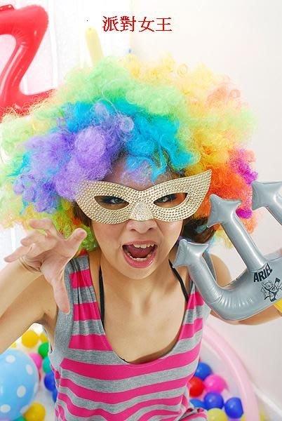 聖誕節,萬聖節.尾牙 派對 PARTY 必備 五彩爆炸頭套 假髮 批發價  永和