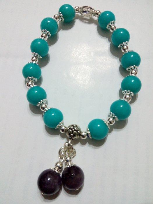 【九龍藝品】設計款水晶手珠 ~ 彈性線,珠子約10mm (7)