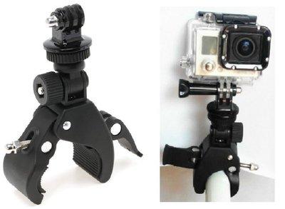 【極品生活】大口徑機車支架  用GOPRO SJ4000/5000/6000/7000運動攝影機 數位相機 手機