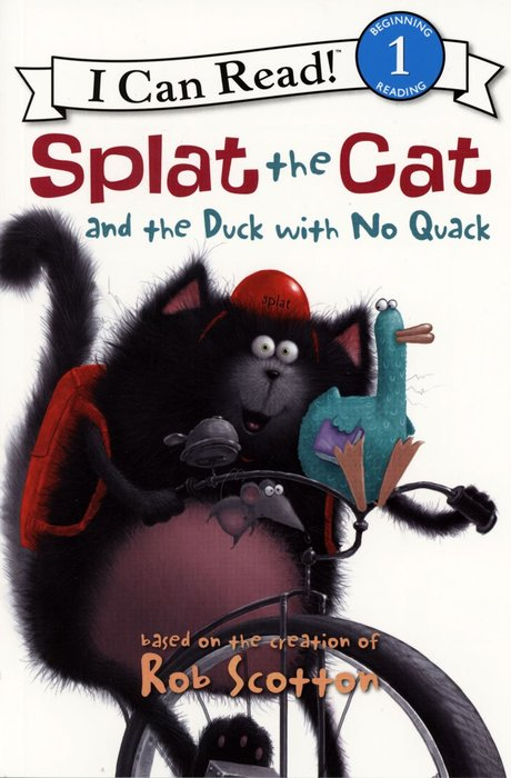 *小貝比的家*ICR:SPLAT THE CAT AND THE DUCK WITH NO QUACK /L1/平裝CD