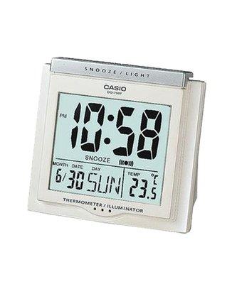 CASIO卡西歐 具有溫度計與日期功能的大字幕鬧鐘DQ-750F DQ-750F-7 基隆市