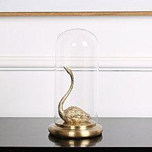〖洋碼頭〗創意水晶球全銅天鵝書房書櫃擺件歐式美式創意客廳電視櫃家居飾品 ysh542