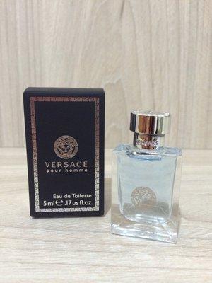 Bella & 香水 Versace Pour Homme 凡賽斯 經典男性淡香水5ML/小香水