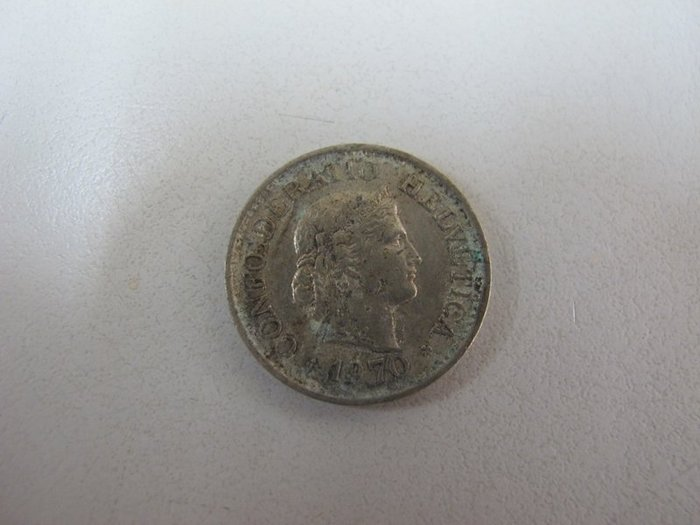 二手舖~ NO.9 瑞士錢幣  10分